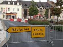 travaux place de la Motte