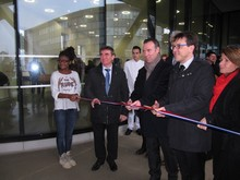 Inauguration par Christophe Clergeau