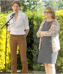 Laure Barthet, Catherine Touchefeu